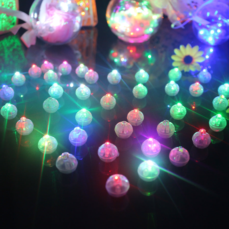 100 Pcs/lot Round Ball Led for Lantern Christmas - New Vado