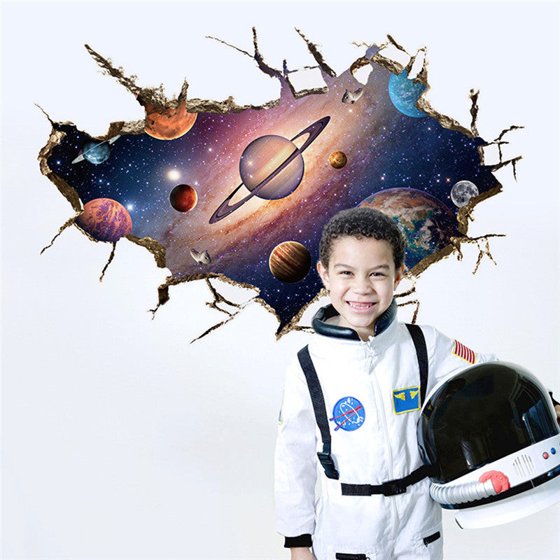 3D Outer Space Planet Wall - New Vado