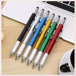 6 in 1 Multifunction Ballpoint Pen - New Vado