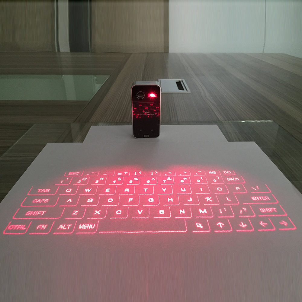 Portable Bluetooth Laser Keyboard - New Vado