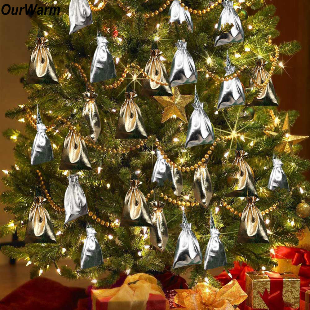 Christmas Tree Pendant Drop Ornaments (50pcs) - New Vado