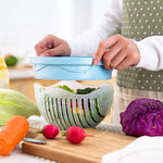 Salad Cutter Bowl Salad Maker - New Vado
