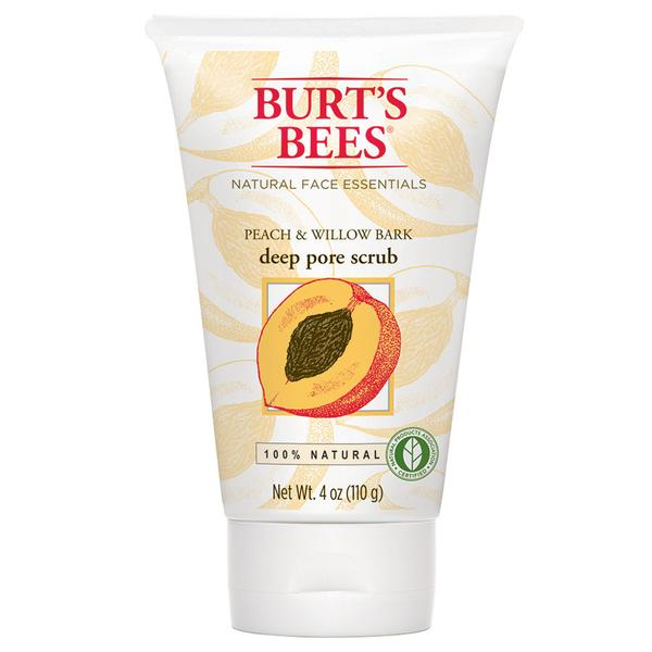 Burt's Bees Peach & Willowbark Deep Pore Scrub 4 Oz.