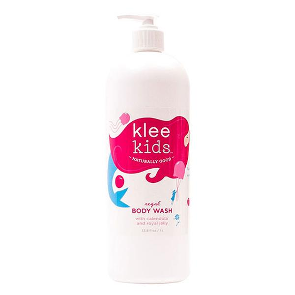 Klee Kids Regal Body Wash with Royal jelly, Organic Honey and Oats