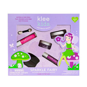 Klee Kids Sparkle Fairy Natural Kids' Makeup Kit