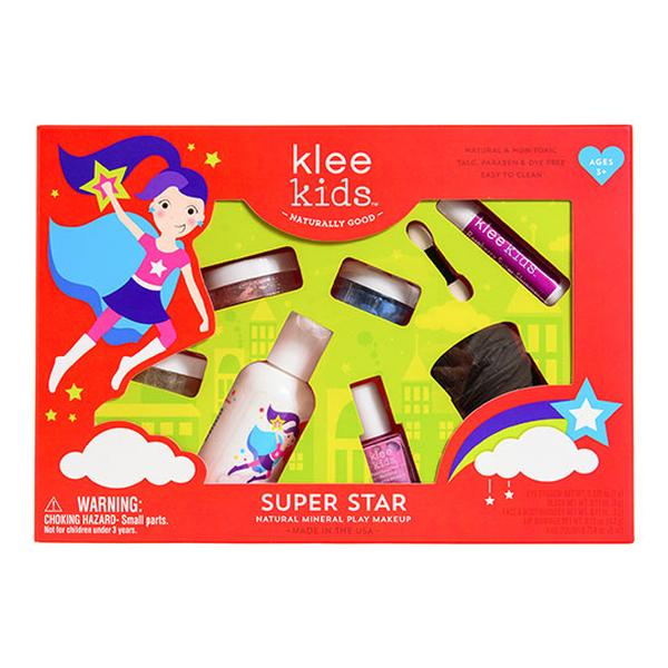 Klee Kids Super Star Natural Kids' Makeup Kit