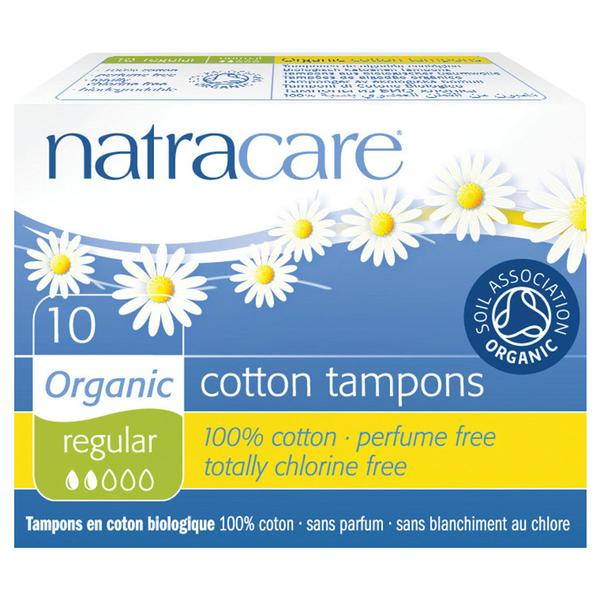 Natracare Organic Regular Non-Applicator Tampons