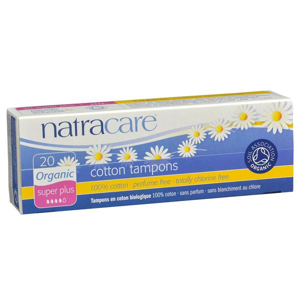 Natracare Organic Super Plus Non-Applicator Tampons