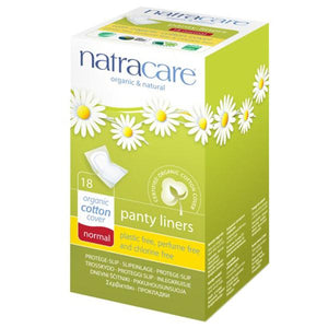 Natracare Panty Liners With Organic Cotton Cover