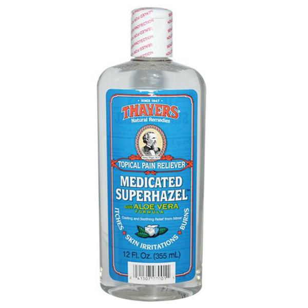 Thayers Medicated Witch hazel Astringent 12 Oz.