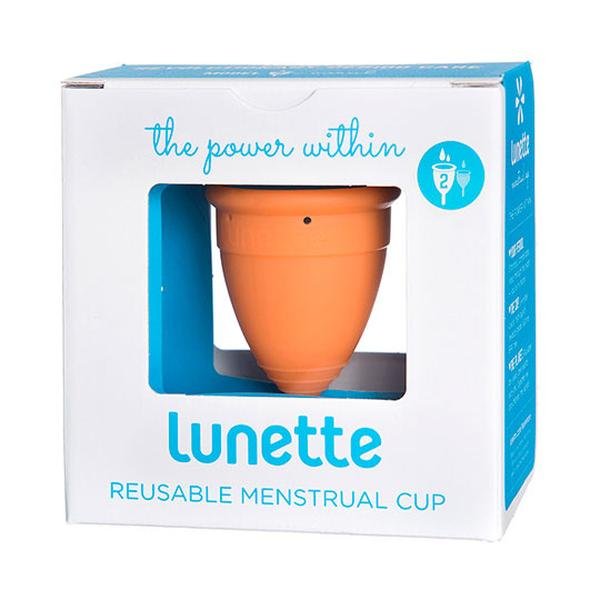 Lunette Aine Menstrual Cup (Coral)