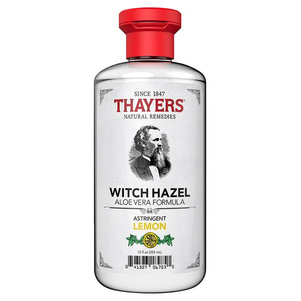 Thayers Witch Hazel And Lemon Astringent 12 Oz.