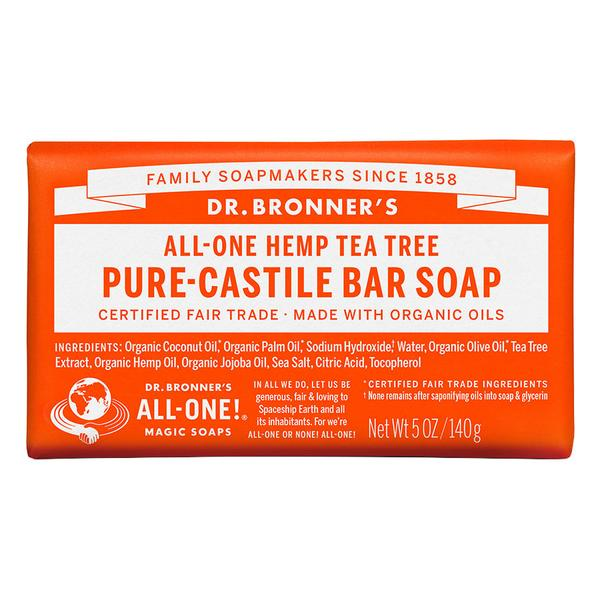 Dr. Bronner's  Castile Bar Soap 5 Oz.