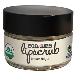 Eco Lips Brown Sugar Lip Scrub