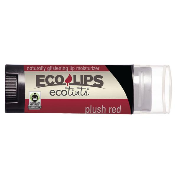 Eco Lips Plush Red Eco Tints Lip Moisturizer 0.15 Oz.