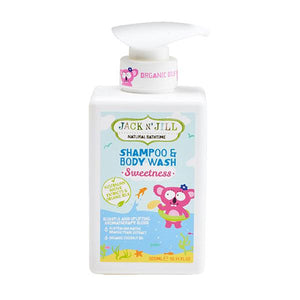 Jack N' Jill Natural Shampoo & Body Wash 10.14 OZ