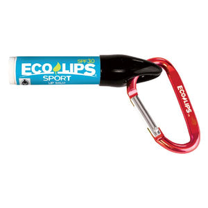 Eco Lips Sport Lip Balm With Carabiner Clip 0.15 Oz.