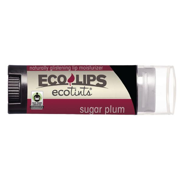 Eco Lips Sugar Plum Eco Tints Lip Moisturizer 0.15 Oz.