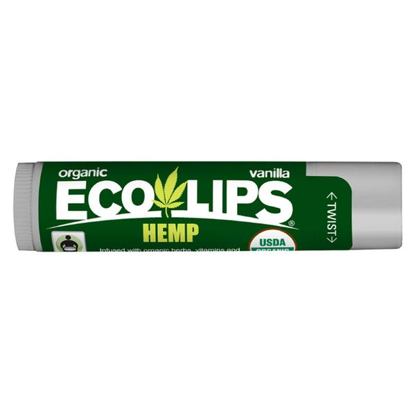 Eco Lips Vanilla Hemp Premium Lip Balm 0.15 Oz.