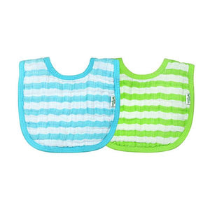 Green Sprouts Muslin Bibs 2 Pack