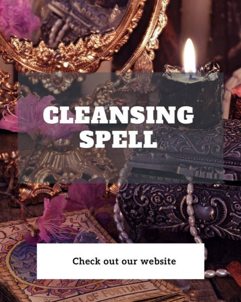 🕯️ Cleansing Spell 🕯️ Done for...