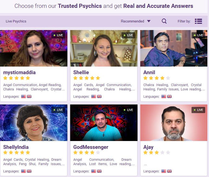 Best Psychic in South Africa | PSYCHICS Tarot Readings | Clairvoyant Reader