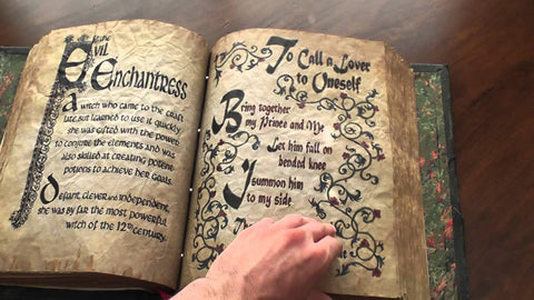Book of Shadows Spells and Psychics