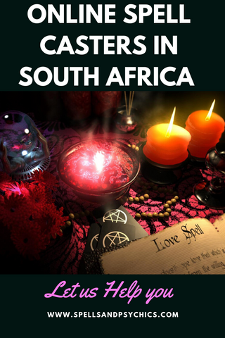 Online Spell Casters in South Africa