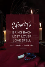 Spell to get your ex back