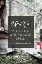 Fall In Love Spell