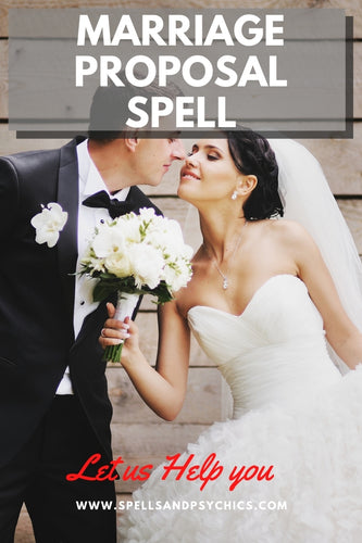 Marry Me Spell - Marriage Proposal Spell