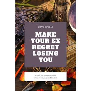 make your ex regret losing you