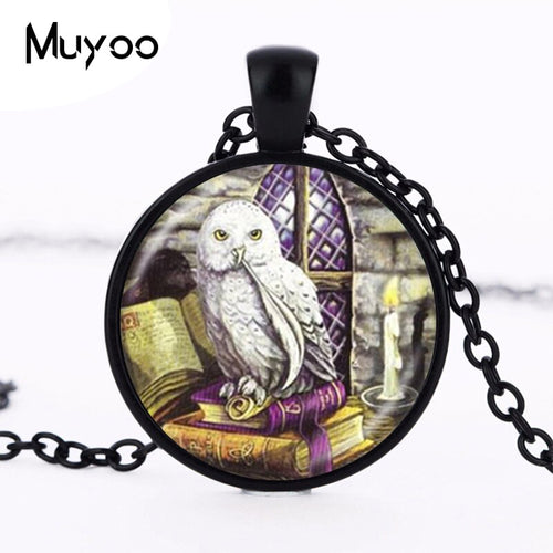 Wicca Owl Necklace Jewelry