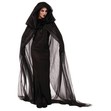 Hooded Cloak Coat Wicca Robe Medieval Cape