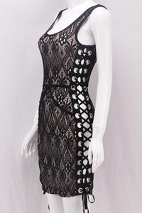 All I Need Bandage Lace Dress