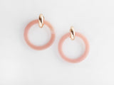 Chloe Earrings in Pink