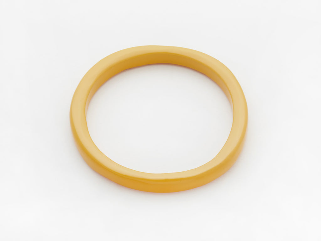 Creole Bangle in Mustard
