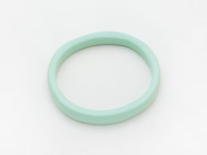Creole Bangle in Aqua
