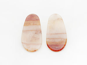 Maple Earrings in Marble