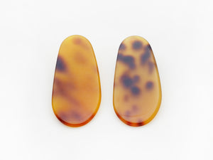 Maple Earrings in Tort