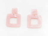 Lois Earrings in Pink