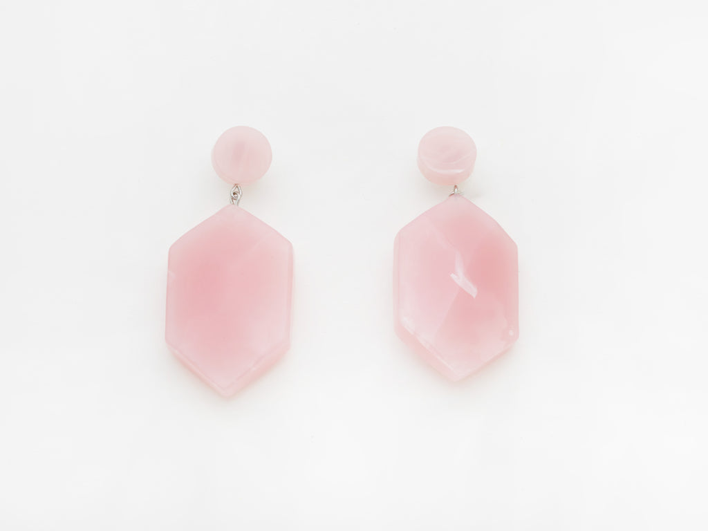 Natalia Earrings in Pink