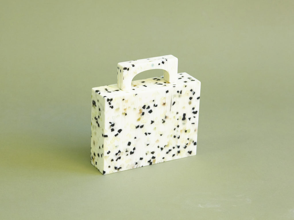 Alexa Bag in White Dalmation
