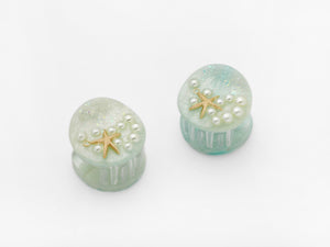 Ariel Clips in Mint