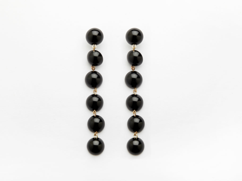 Tallulah Earrings in Black