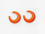 Vivian Earrings in Orange