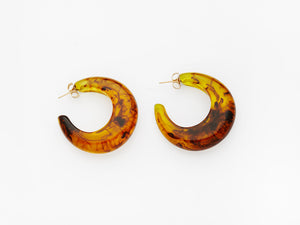Vivian Earrings in Tortoiseshell