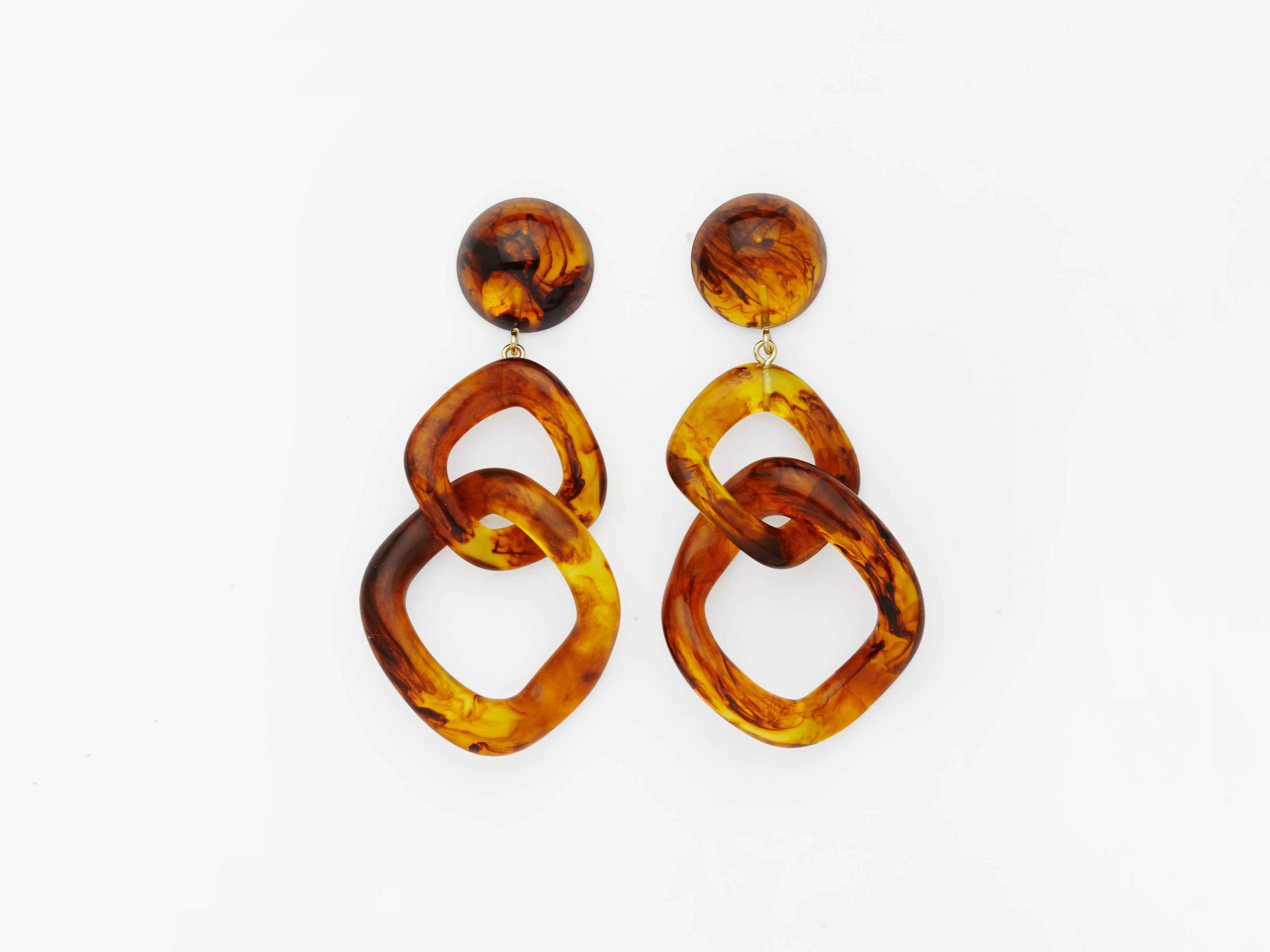 Tamara Earrings in Tortoise
