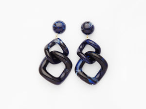 Tamara Earrings in Blue