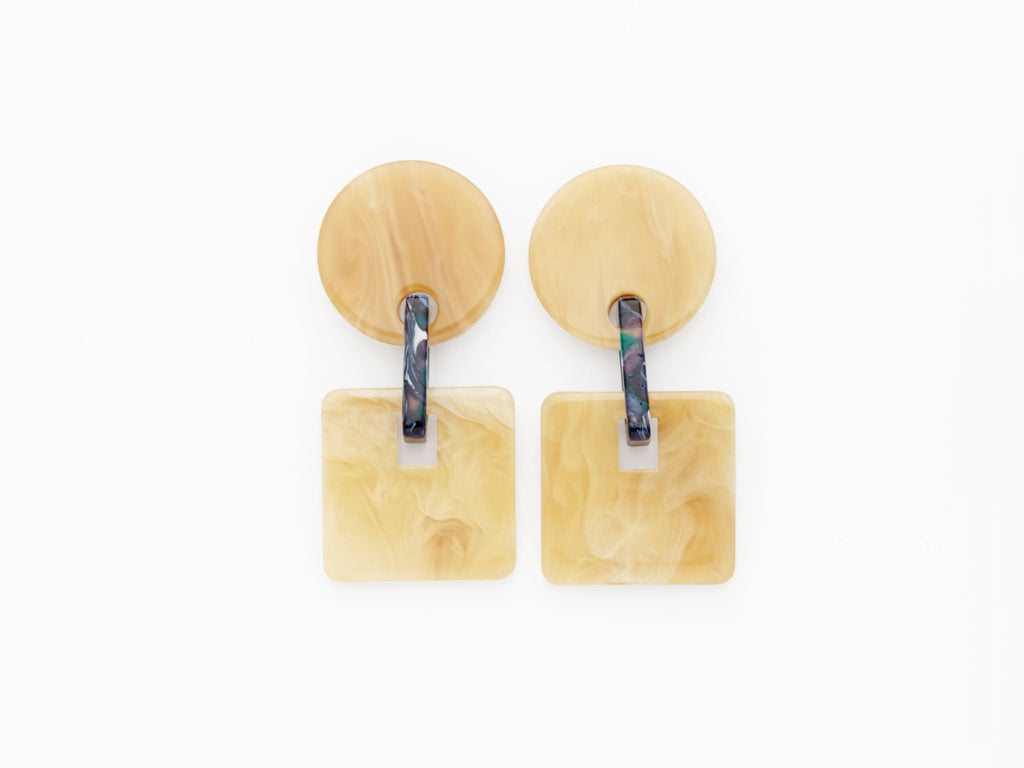 Savannah Earrings Caramel